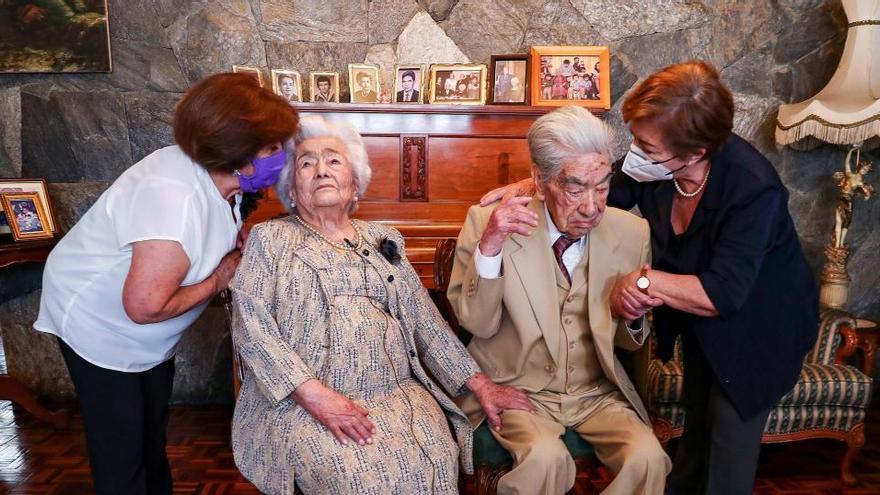 Muere en Ecuador el marido de la pareja de casados más longeva del mundo