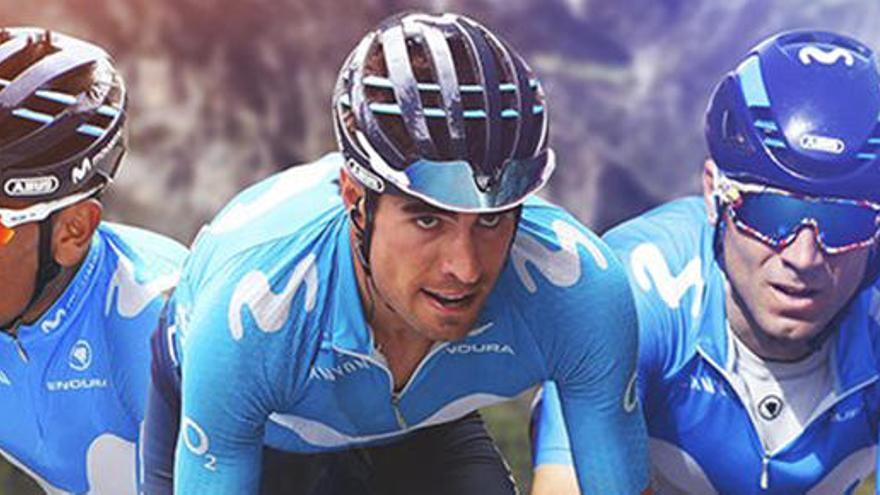 Quintana, Landa y Valverde, el tridente del Movistar para el Tour