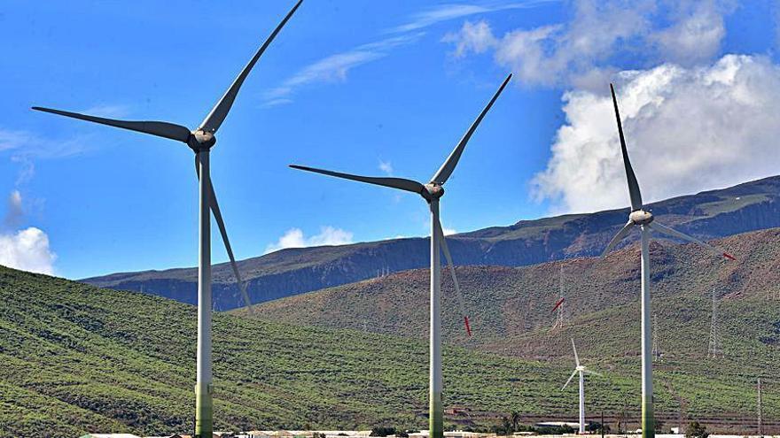 Naturgy eleva un 21% su producción eólica y nutre a 57.400 hogares isleños