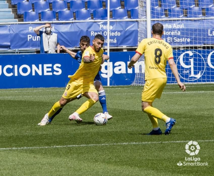 Les imatges del Oviedo-Girona