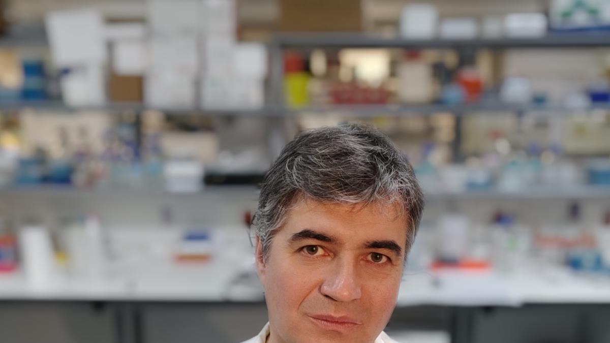 El investigador Óscar Aguilera.