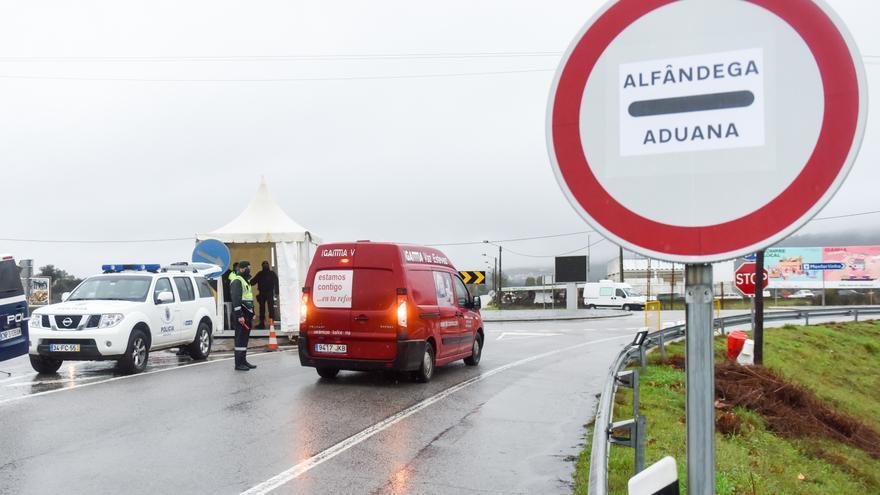 Prorrogados dos semanas más los controles en la frontera entre España y Portugal
