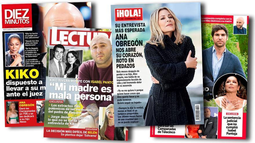 Ana Obregón e Isabel Pantoja dan la campanada en el quiosco