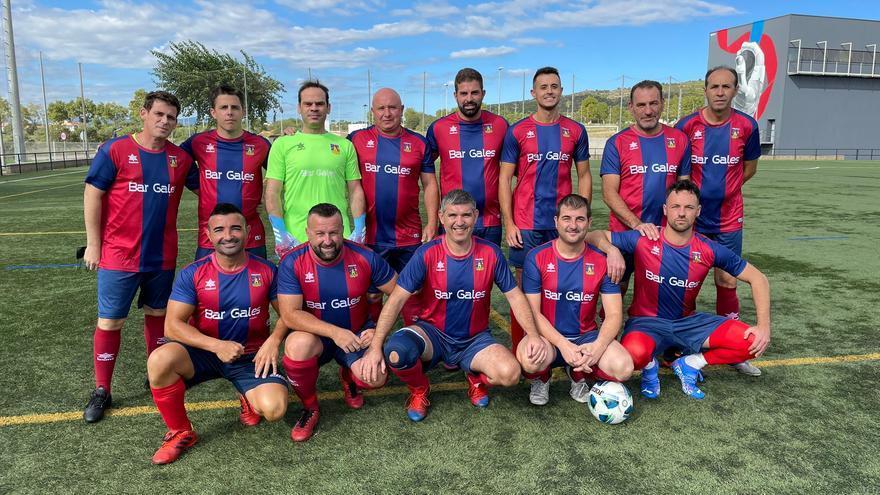 Ilusiones renovadas en el inicio de la liga de fútbol de veteranos de Castellón 2021/22