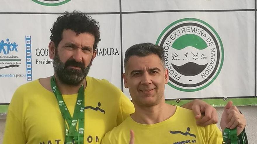 El Natación Zamora regresa con seis medallas de Extremadura