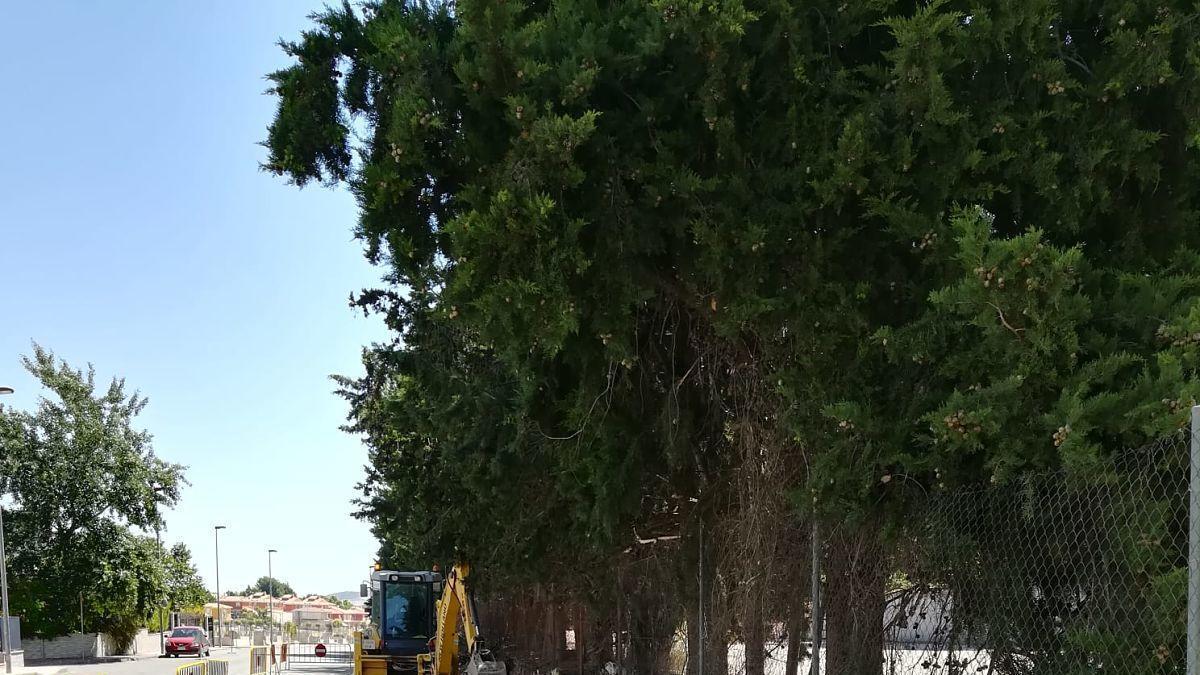 Se inicia el arreglo de la calle Mariano Rojas de Bullas