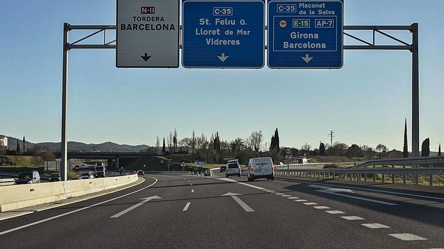 Nyap estatal a les infraestructures de Girona: l'enllaç de l'A-2 a Vidreres s'ha de tornar a licitar