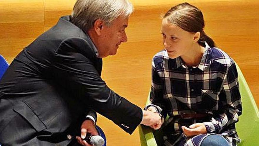 Els joves pressionen l'ONU pel clima