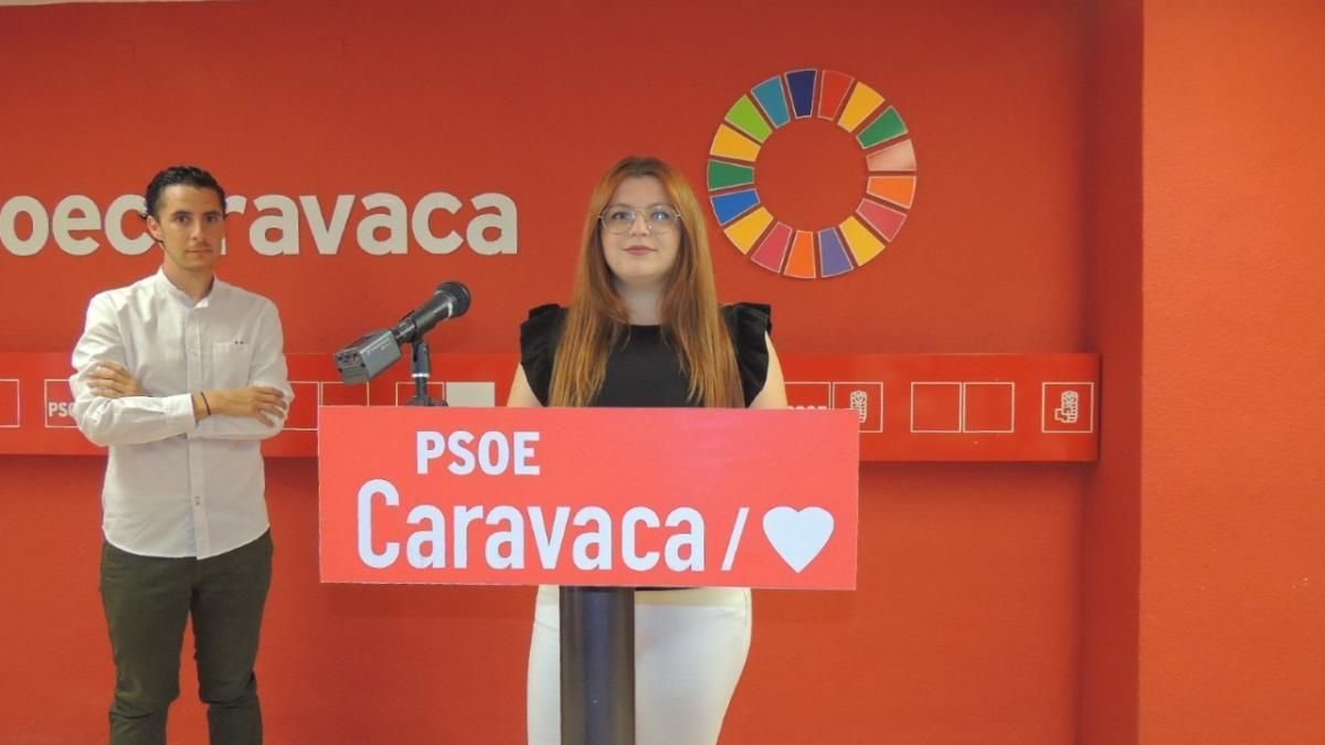Juventudes Socialistas de Caravaca de la Cruz presenta medidas de apoyo a la Juventud