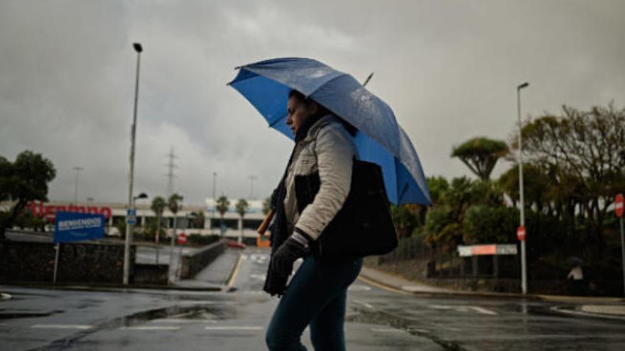 Riesgo de lloviznas en la provincia tinerfeña