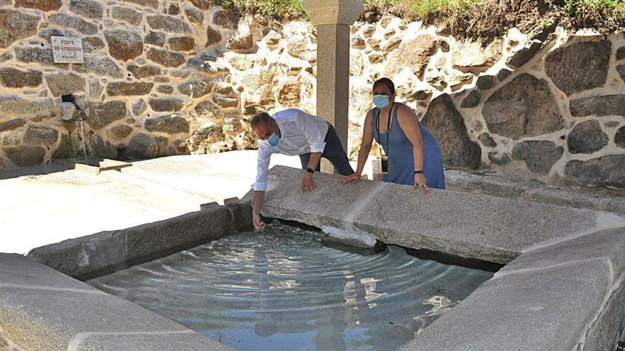 Soutomaior recupera el antiguo lavadero de Moreira como lugar de encuentro