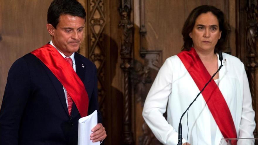 Ciutadans trenca amb Manuel Valls