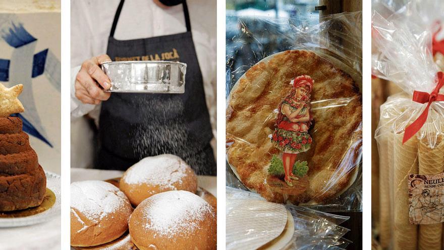 Süße Weihnachten mit traditionellem Gebäck