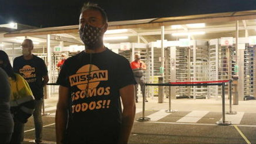 Nissan reprèn la producció a totes les seves línies en una nova setmana de protestes dels treballadors d'Acciona