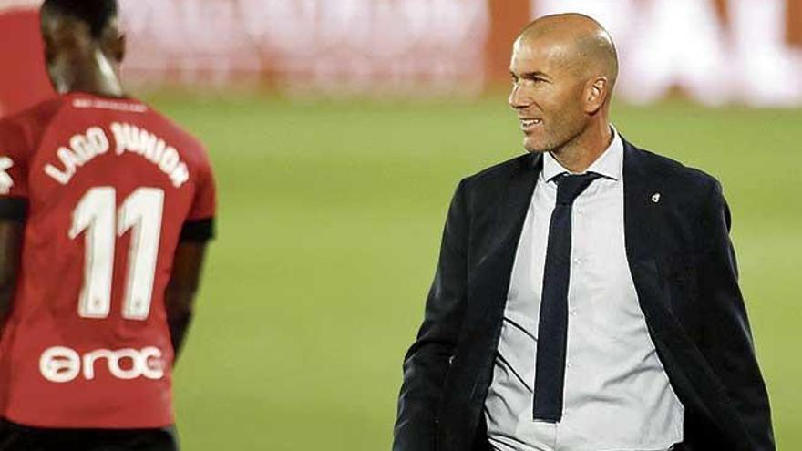 """Zidane: """"Seguramente lo podemos hacer mejor"""""""