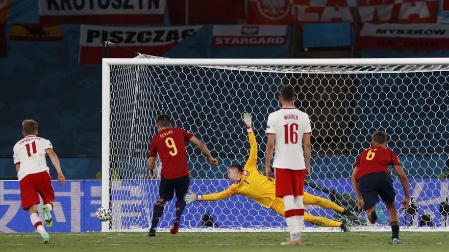 Eurocopa 2021   La puntería lastra a España, que suma un gol en 28 remates