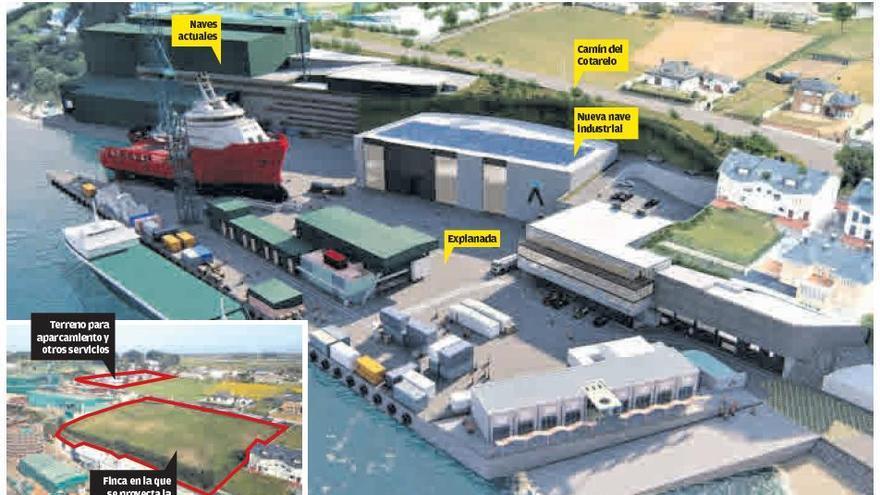 Gondán plantea ampliar el astillero de Figueras para producir más barcos en menos tiempo