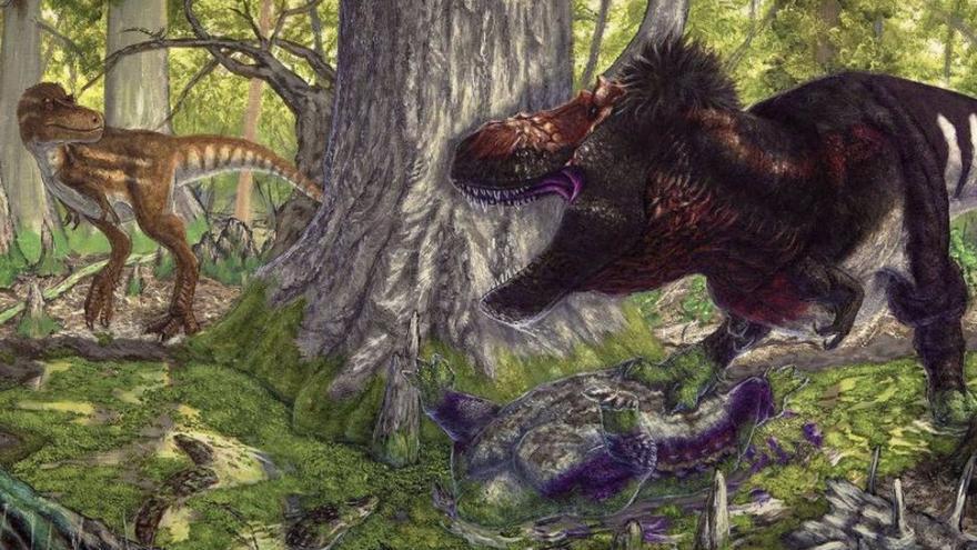 Cuando los Tyrannosaurus rex dominaban, los depredadores medios desaparecían