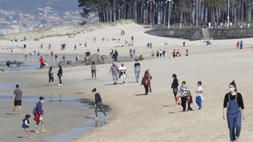 Febrero se despide con 30.000 curados más del coronavirus en Galicia