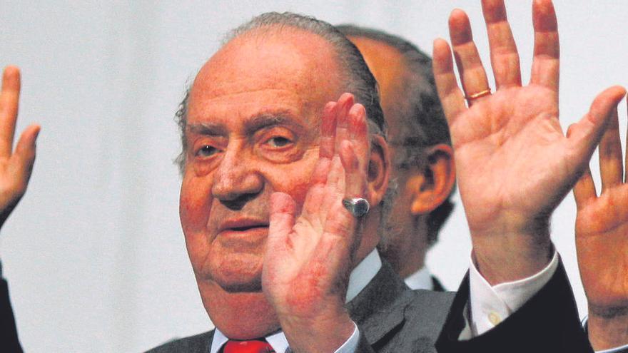 El rey Juan Carlos recibió 6,5 millones en Suiza
