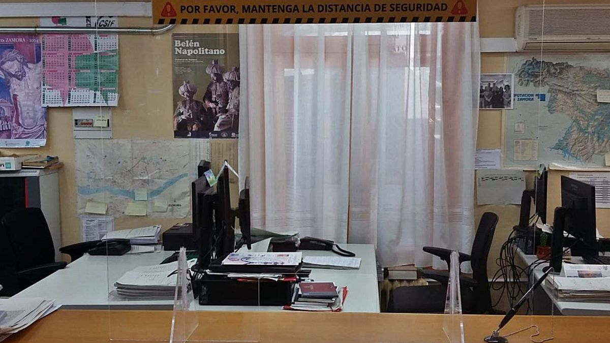 Oficinas de decanato y servicio común de notificaciones.   Emilio Fraile