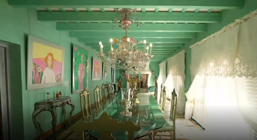 La mansió de Carmen Thyssen a Sant Feliu de Guíxols.