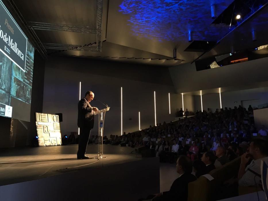 Javier Moll durante su discurso.