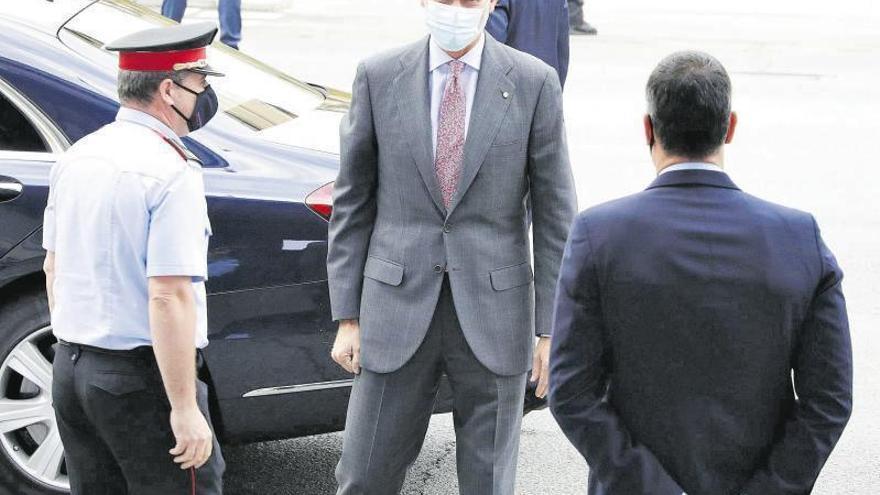 """El Rey llama a la """"unidad"""" para superar la crisis generada por la pandemia"""
