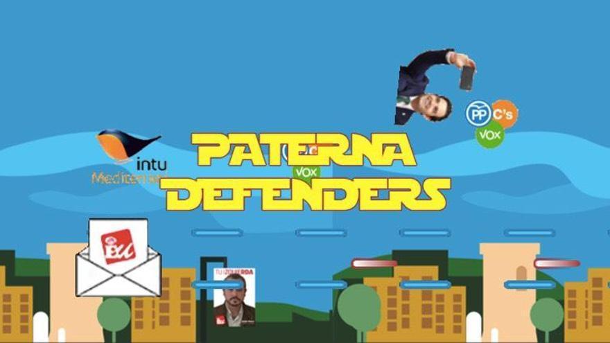 """EU juega al """"Paterna Defenders"""""""
