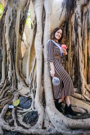 Candidata a Reina del Carnaval: Judith Rodríguez