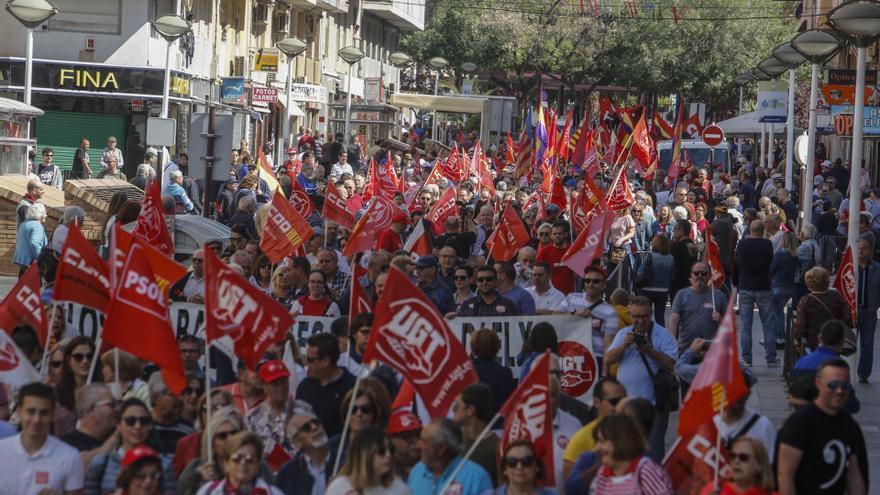Los sindicatos se movilizan: aumento de salario y derogación de la reforma laboral y la de las pensiones de 2013