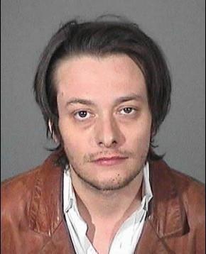 Edward Furllong tras ser detenido en el año 2000. Policía de Los Ángeles