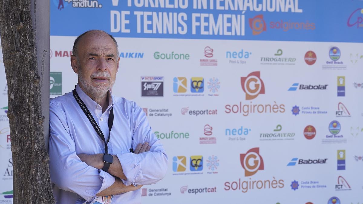 Xavier POnsatí a les instal·lacions del CT La Bisbal