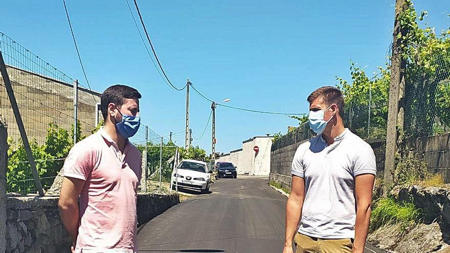 Cambados inicia un paquete de obras en pistas del rural