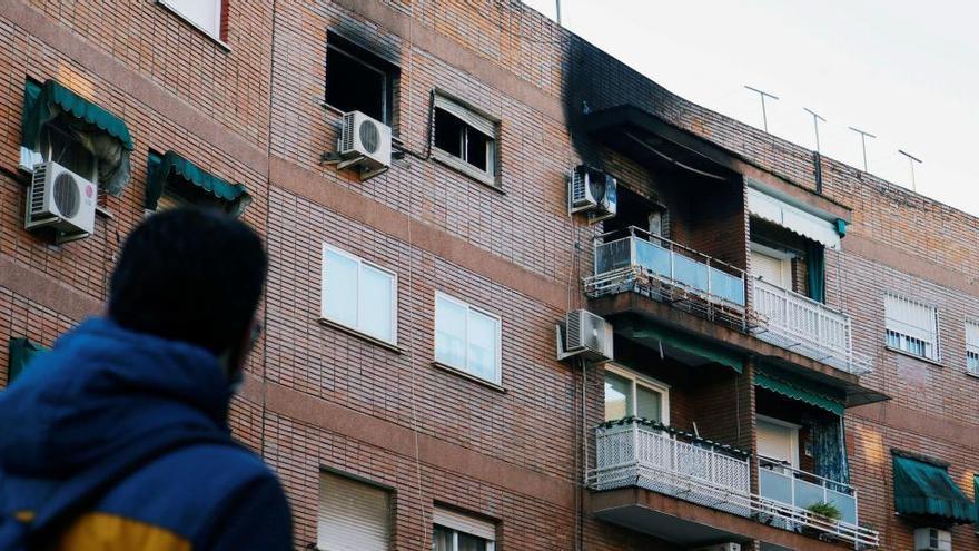 Fallece una mujer de 93 años en el incendio de su vivienda en Córdoba