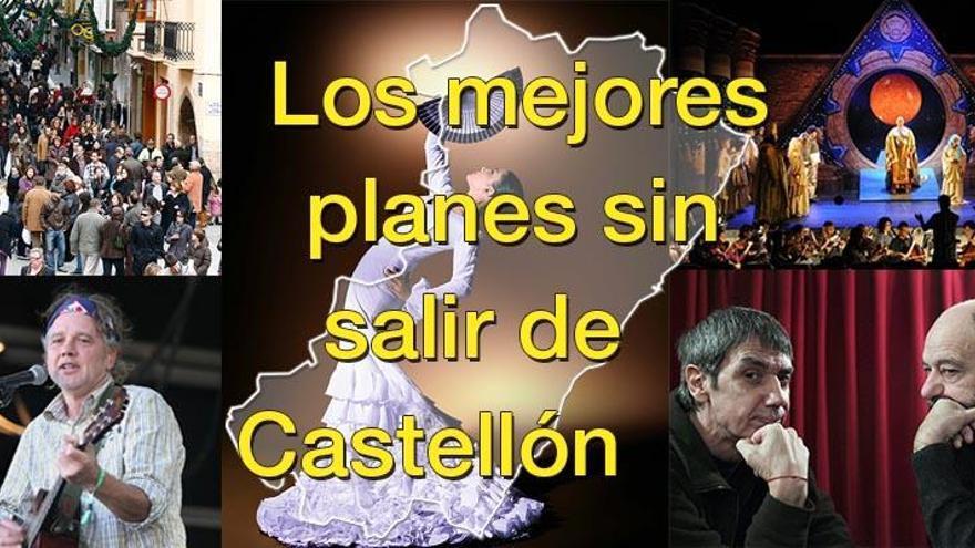 Si aún no tienes plan para este fin de semana en Castellón es porque no quieres
