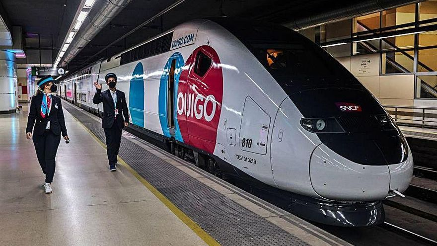 La «low cost» Ouigo inicia la liberalització del tren
