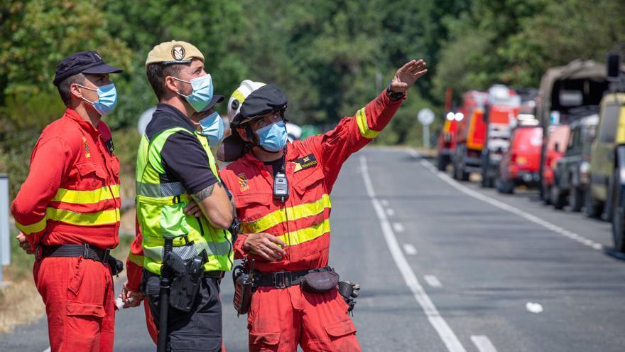 """Logran controlar el incendio de La Rioja, que podría haber sido """"intencionado"""""""