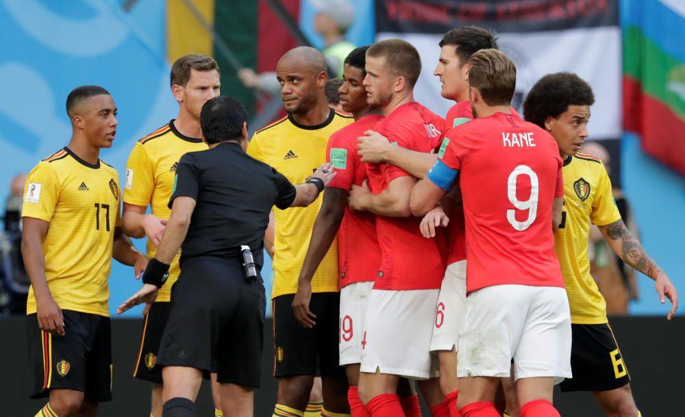 Mundial de Rusia: Bélgica-Inglaterra