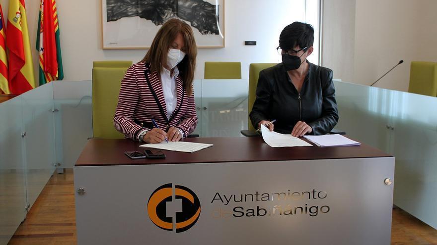 Sabiñánigo cede al Alto Gállego el edificio que albergará el centro de Servicios Sociales de la Comarca