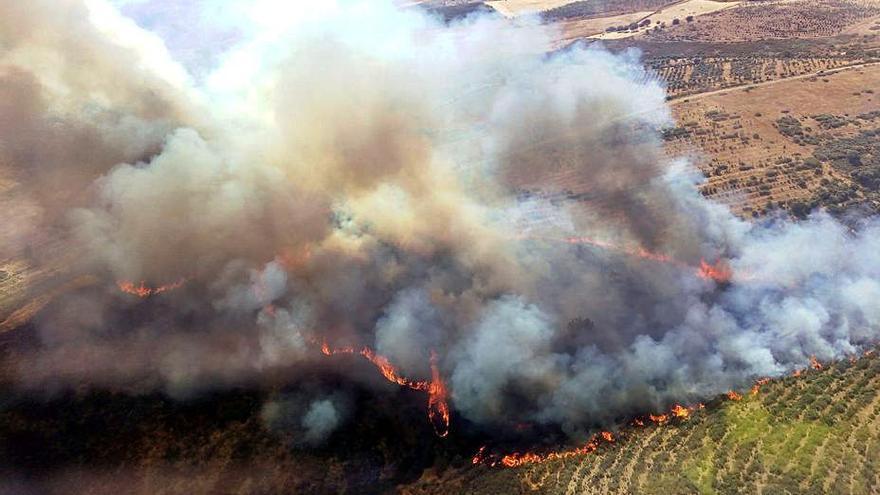 La comunidad, en alerta por riesgo de incendios entre hoy y mañana