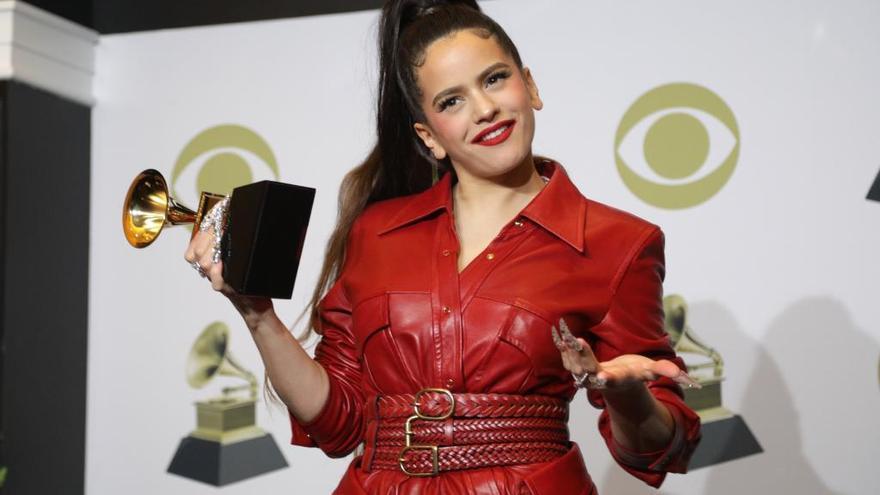 Rosalía guanya el Grammy a millor  disc llatí de rock urbà