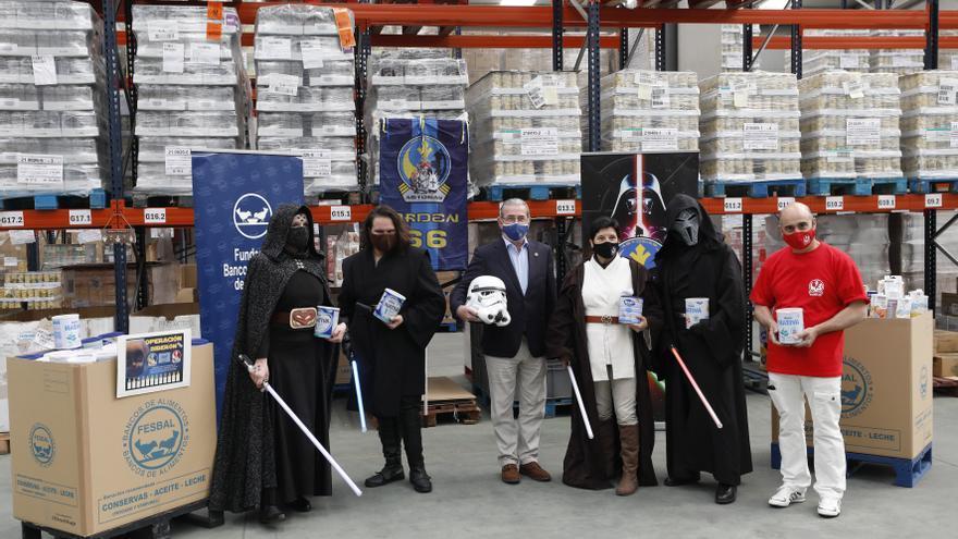 """Solidaridad galáctica para celebrar el día de """"Star Wars"""""""