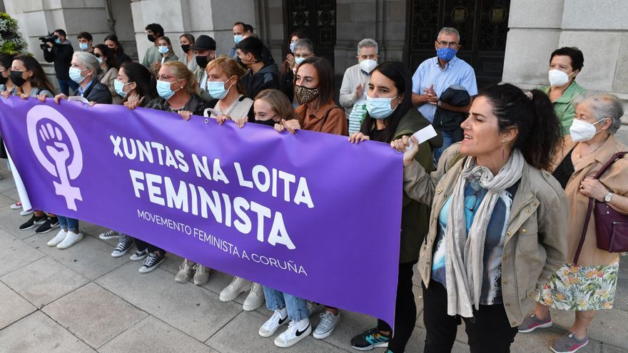 """Una veintena de concentraciones clamarán contra el """"feminicidio"""" de A Coruña"""