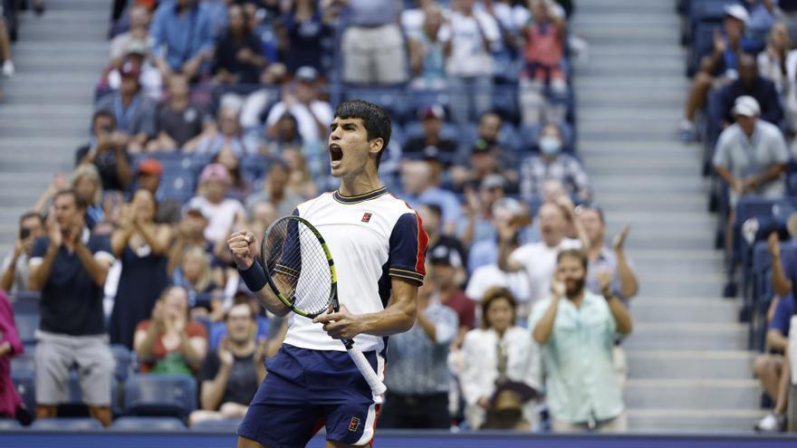 Carlos Alcaraz logra una gran gesta en el US Open