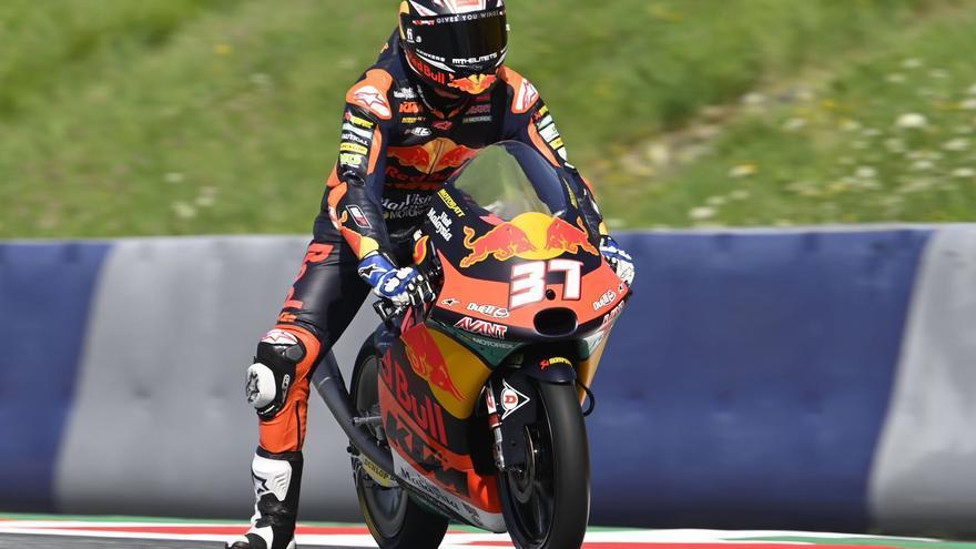 Pedro Acosta, fuera del podio en Austria por 48 milésimas de segundo