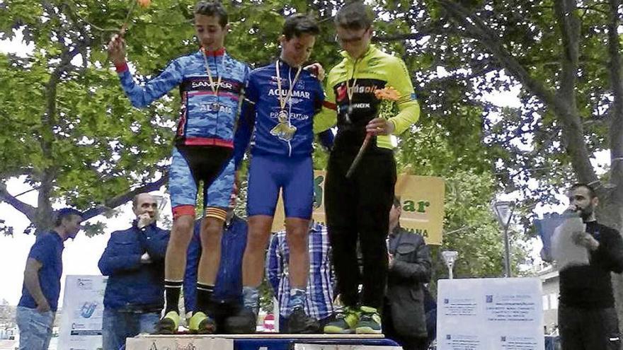 El infantil Marc Terrassa gana en el circuito de Xirivella