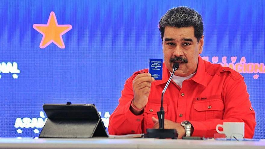 El partit de Maduro reprèn el control del Parlament veneçolà