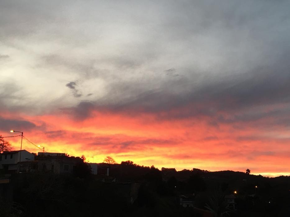 Atardecer en Gran Canaria (02/01/2020)