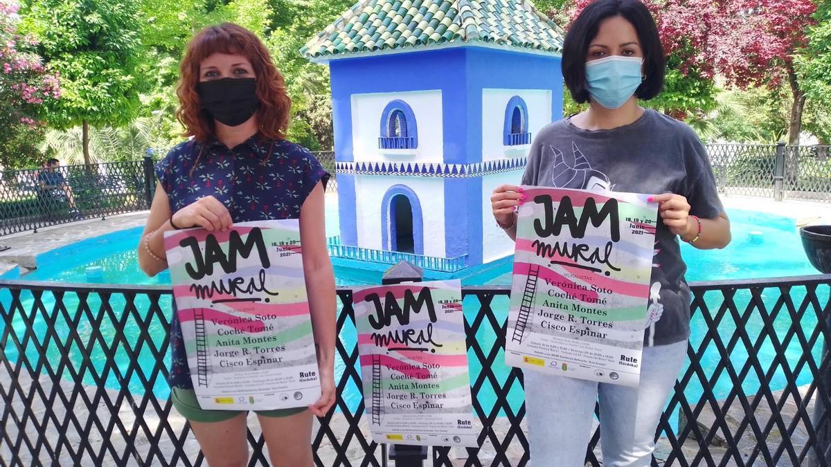 Presentación en Rute de la actividad 'Jam Mural'
